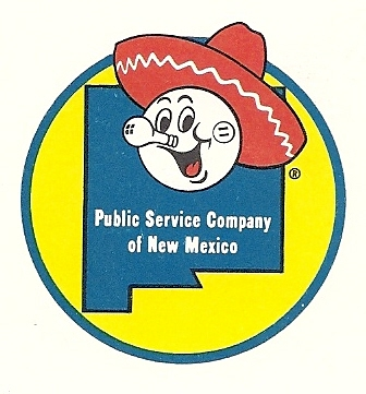 Reddy Kilowatt, the friendly electric servant was the face of the PNM logo